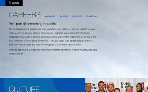 Screenshot of Jobs Page qumulo.com - Careers | Qumulo - captured Nov. 2, 2014
