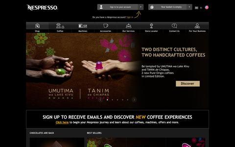 Nespresso | Coffee & Espresso Machines & More