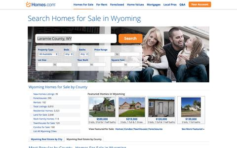 Wyoming Homes for Sale | Homes.com