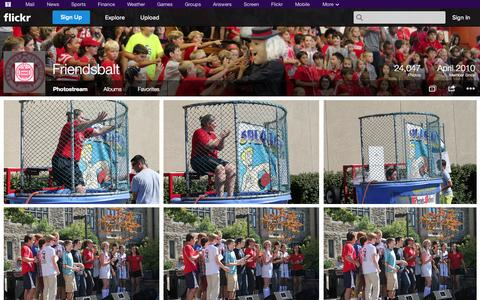 Screenshot of Flickr Page flickr.com - Flickr: Friendsbalt's Photostream - captured Oct. 23, 2014