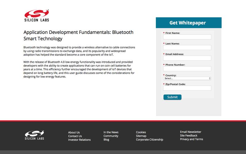 User Guide - Application Development Fundamentals: Bluetooth Smart Technology - LP | Silicon Labs