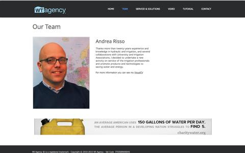 Screenshot of Team Page wt-agency.com - Team Wt Agency - captured June 18, 2017