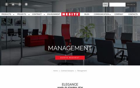 Screenshot of Team Page nesite.com - Management - Nesite - captured Nov. 7, 2018