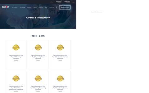 Screenshot of About Page skillsoft.com - E-Learning   E-Learning Company   Skillsoft - captured Dec. 7, 2016