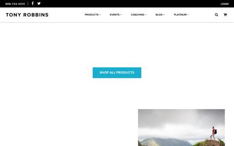 Tony Robbins Online Store