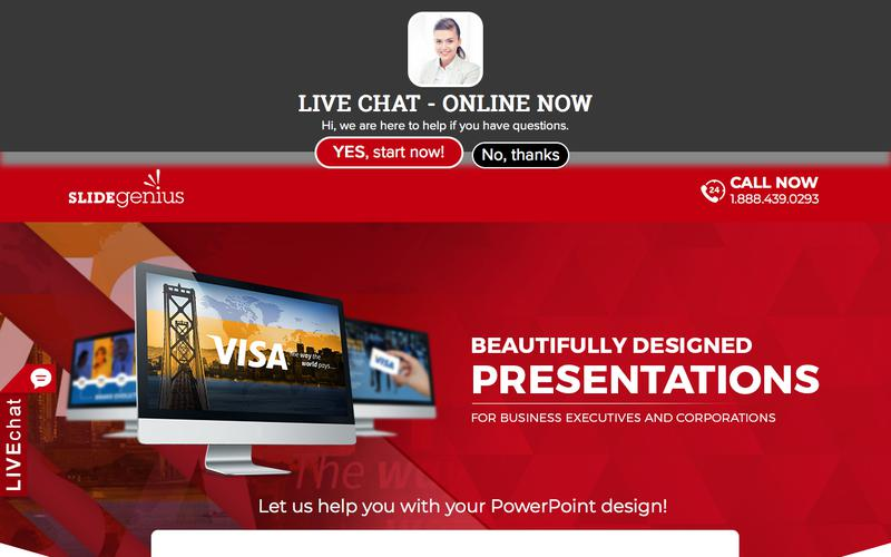 PowerPoint Design Consultants | Speak With One Today | SlideGenius Presentation Consulting Experts