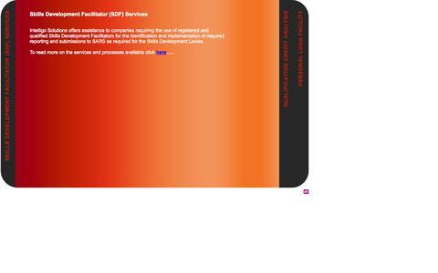 Screenshot of Services Page intelligosolutions.com - COMPANY SLOGAN - captured Sept. 30, 2014