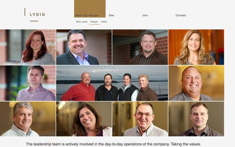 Screenshot of Team Page lydig.com - Lydig Construction | People - captured Oct. 3, 2014