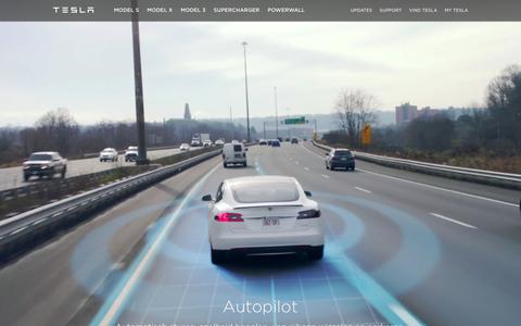 Screenshot of teslamotors.com - Tesla Motors Nederland | Toonaangevende elektrische voertuigen - captured April 5, 2016