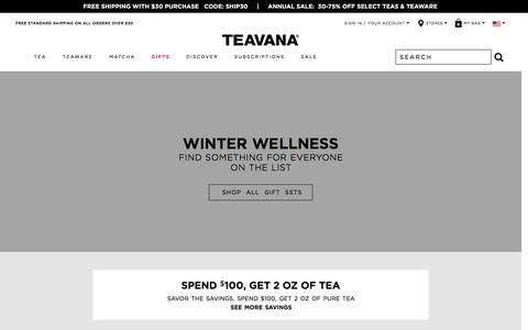 Teavana | Loose-Leaf Tea | Tea Gifts | Teaware