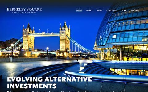 Screenshot of Home Page berksq.com - Home - Berkeley Square Capital Management - captured June 17, 2015
