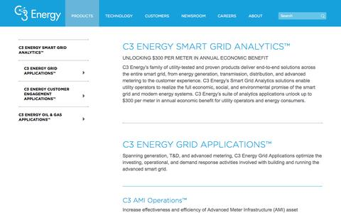 Products | C3 Energy