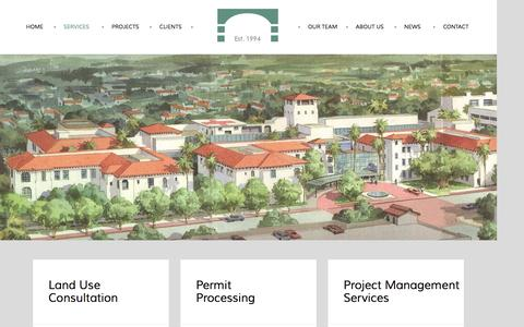 Screenshot of Services Page sepps.com - Suzanne Elledge Planning & Permitting Services, Inc.Services - Suzanne Elledge Planning & Permitting Services, Inc. - captured Dec. 2, 2016