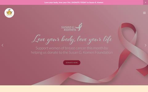 Screenshot of Home Page skinsense.com - Skin Sense - captured Nov. 2, 2017