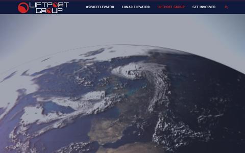 Screenshot of Home Page liftport.com - LiftPort Group - LiftPort Group - captured Oct. 2, 2014