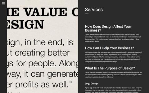 Screenshot of Services Page aveocreative.com - Aveo Creative | Services - captured Sept. 30, 2014