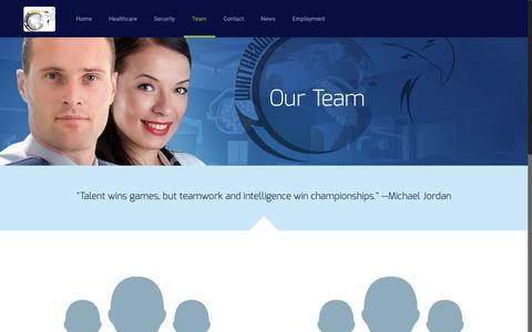 Screenshot of Team Page whitehawkworldwide.com - Team | Whitehawk Worldwide - captured Nov. 22, 2016