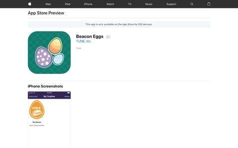 Beacon Eggs on the App Store