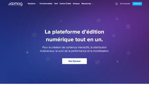 Plateforme d'édition numérique pour tous | Joomag