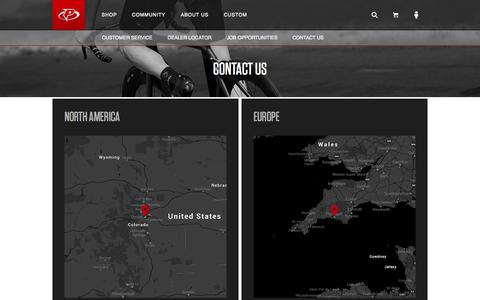 Screenshot of Contact Page primalwear.com - Primal Wear Cycling Apparel | Contact - Est. 1992 Colorado - captured Oct. 28, 2014