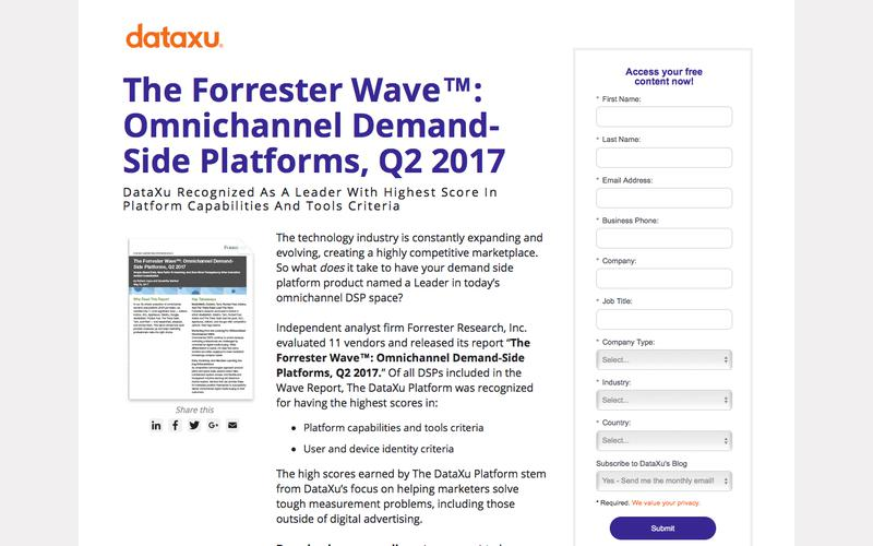 The Forrester Wave™: Omnichannel Demand-Side Platforms, Q2 2017
