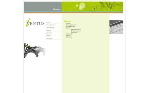 Screenshot of Site Map Page iventus.nl - Iventus - captured Sept. 30, 2014