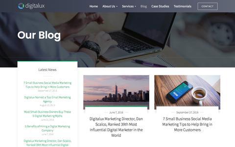 Digital Marketing Blog — Digitalux