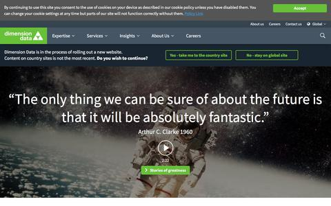 Home Page   Dimension Data
