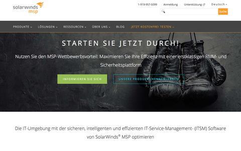SolarWinds MSP: Die führende IT-Service-Management- (ITSM) Plattform