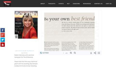 Screenshot of Press Page inner-rhythm.net - Inner Rhythm media, radio interviews, magazine articles - Inner Rhythm - captured Sept. 20, 2018