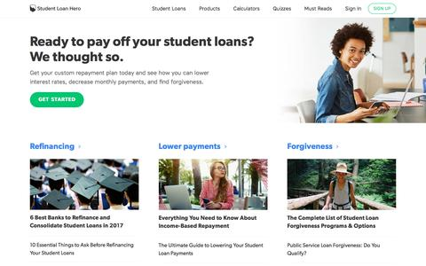 Calculators and Tools to Pay Off Student Loans | Student Loan Hero