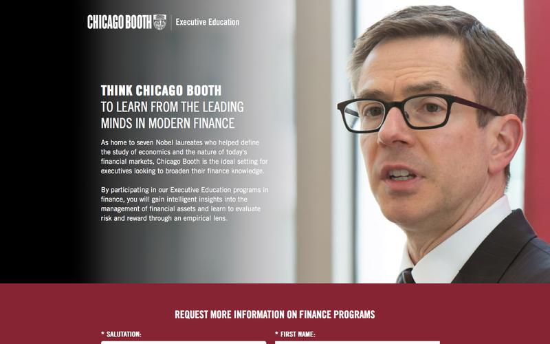 Executive Education at Chicago Booth | Finance Courses
