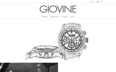 Screenshot of Home Page giovine.net - Giovine - captured Sept. 26, 2014
