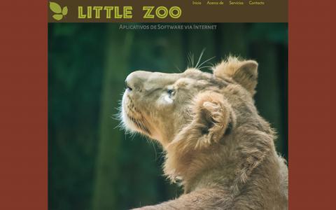 Screenshot of Home Page littlezoo.net - Little Zoo Network: Proovedor de software y aplicaciones Via Internet - captured April 11, 2016