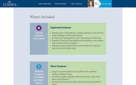 Screenshot of Pricing Page classicahomes.com - Pricing Philosophy   Classica Homes - Classica Homes - captured Nov. 10, 2018