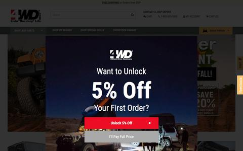 Jeep Accessories & Jeep Parts for the Wrangler, Cherokee, & Liberty | 4WD.com