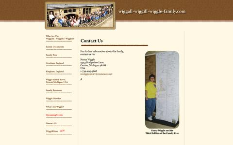 Screenshot of Contact Page wiggall-wiggill-wiggle-family.com - Who Are the wiggall-wiggill-wiggle-family.com - captured April 9, 2017