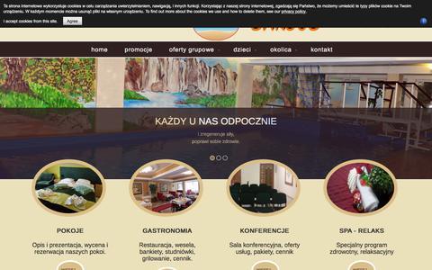 Screenshot of Home Page Privacy Page sargus.com.pl - wczasy, noclegi, nad morzem,tel - sargus - ośrodek Wczasowy - captured March 2, 2018