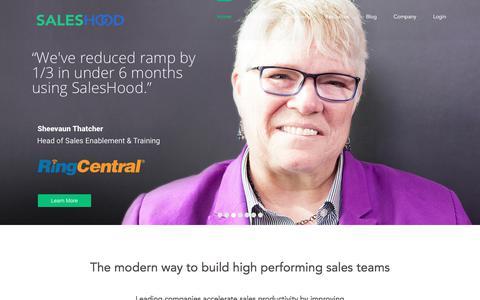 SalesHood - Sales Enablement Platform