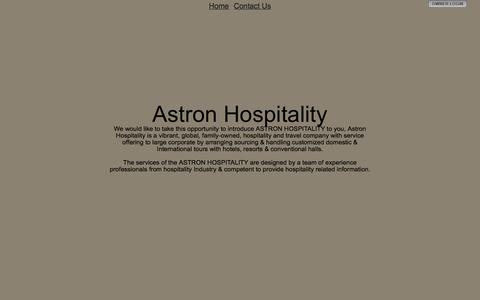 Screenshot of Privacy Page astronhospitality.com - Astron Hospitality - captured Aug. 2, 2015