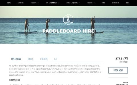 Paddleboard hire — Psyched Adventures