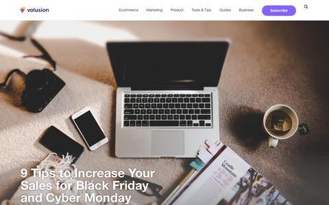 Volusion Ecommerce Blog | SMB Marketing, Design & Strategy