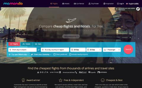 Cheap flights - Search and Compare Flights with momondo