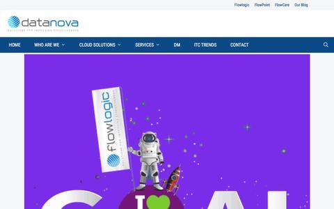 Screenshot of Home Page datanova.com.au - Cloud based Software Solutions for NDIS &My Aged Care - Datanova - captured Feb. 7, 2020