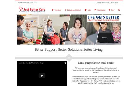 Aged Care, Disability Support & In Home Care Services in Australia