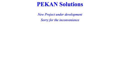 Screenshot of Home Page pekan.dk - pekan.dk - captured Oct. 2, 2014