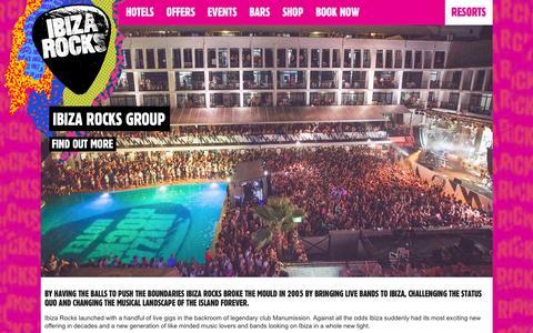 Screenshot of About Page ibizarocks.com - About: Ibiza Rocks | Ibiza Rocks - captured Jan. 23, 2016