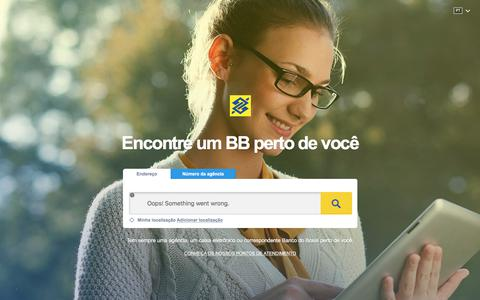 Screenshot of Home Page impco.com.au - Localizaçao de Agências do Banco do Brasil - captured Sept. 30, 2017