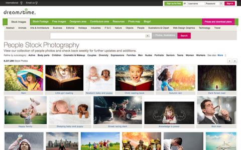 Screenshot of Team Page dreamstime.com - Stock Photos of People & Royalty Free Images of People - captured Aug. 2, 2016