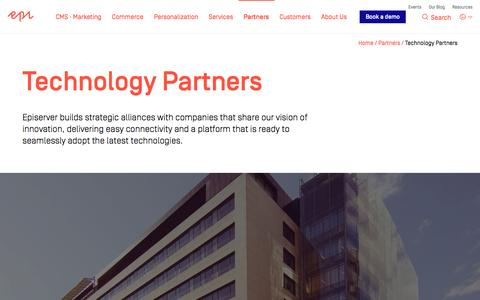 Technology Partners - Episerver